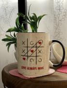 Caneca de Porcelana Love #
