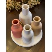 Jogo Vasinhos de Porcelana