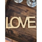 Palavra Lettering Love