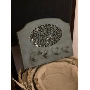 Porta Chaves Vintage - Parisiense