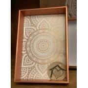 Porta Retrato Box Madeira - Cobre