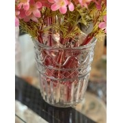 Vase de Vidro Transparente