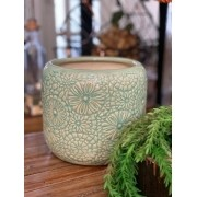 Vaso de Cerâmica Flores