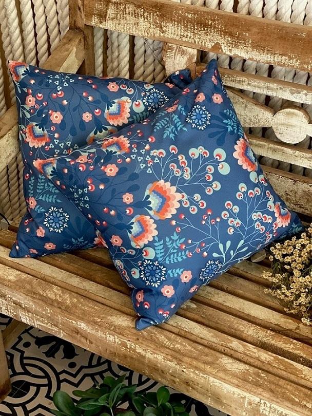 Almofada Bali Azul