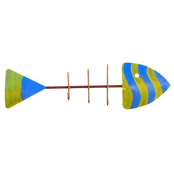 Cabideiro Parede - Peixe