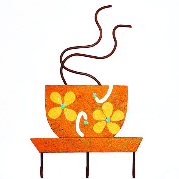 Cabideiro Parede -  Xícara de Chá