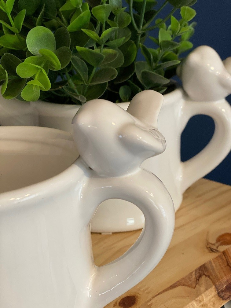 Cachepot Regador de Cerâmica