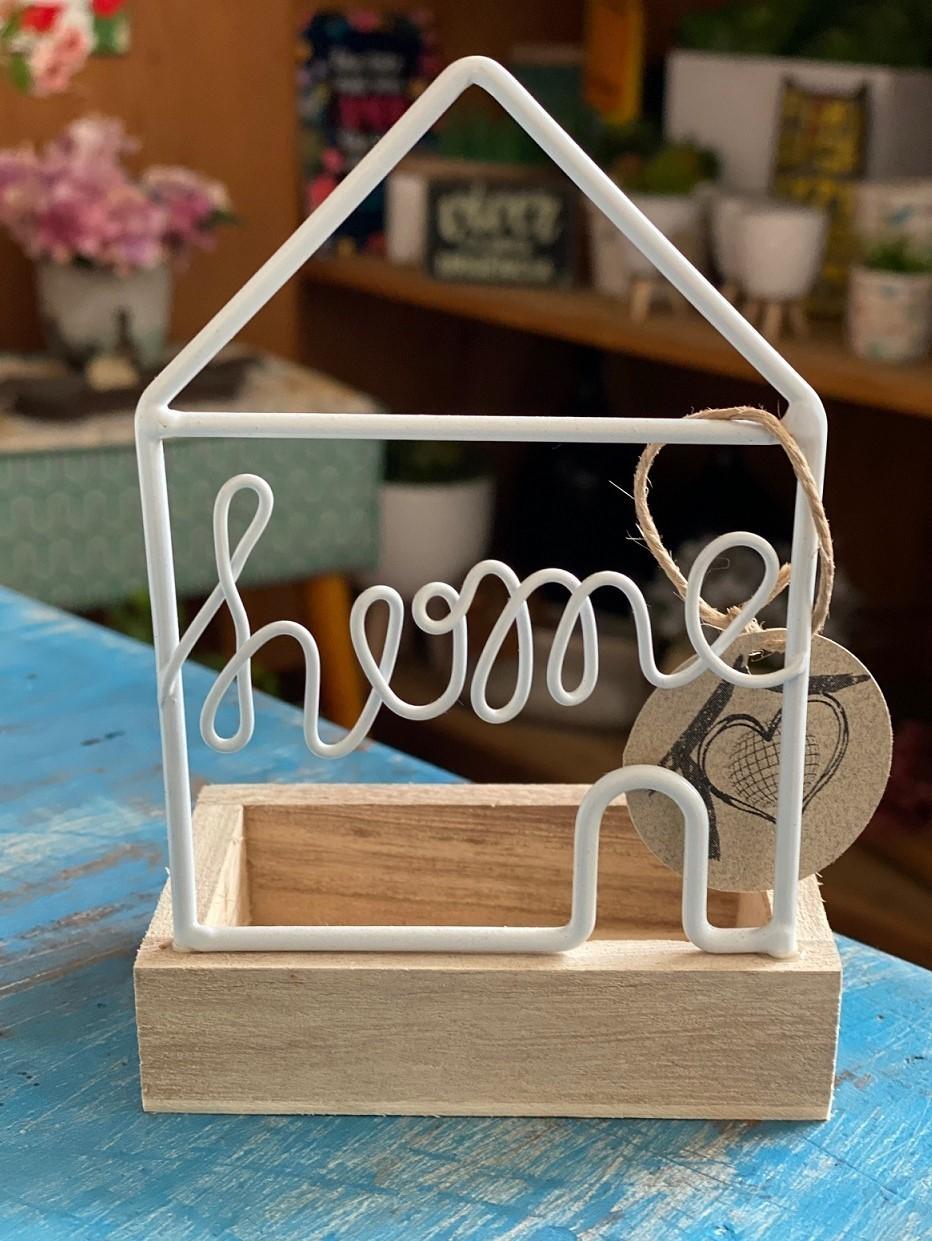 Casinha Mini Porta Objeto - Home