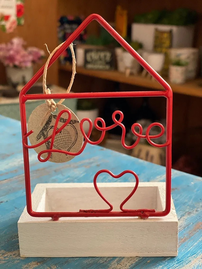 Casinha Mini Porta Objeto - Love