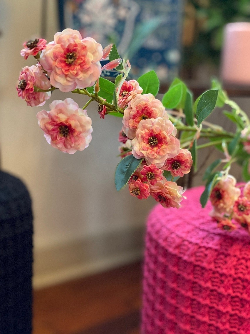 Galho Mini Rosas
