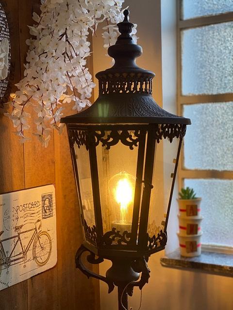 Luminária Poste de Chão em ferro