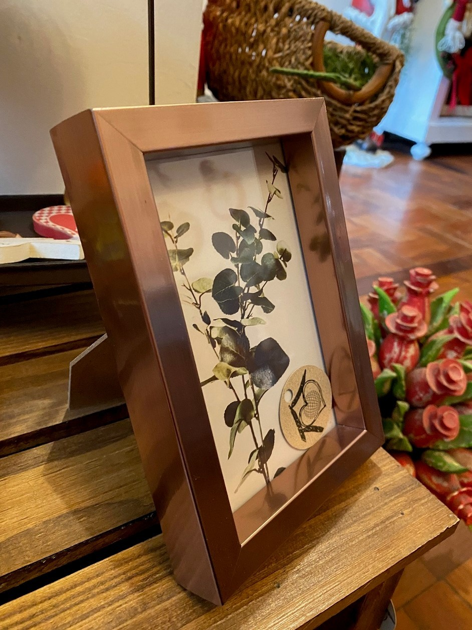 Porta Retrato Box - Cobre