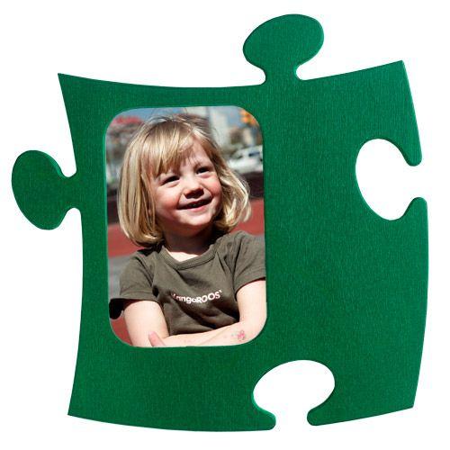 Porta Retrato de parede Puzzle