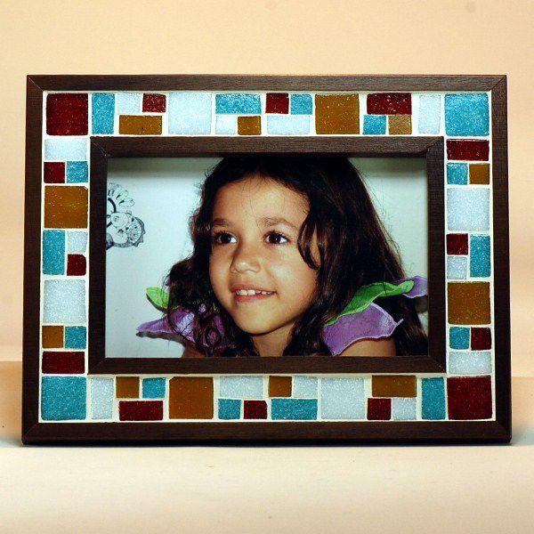 Porta Retrato - Mosáico