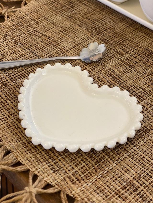 Pratinho de Porcelana - Coração