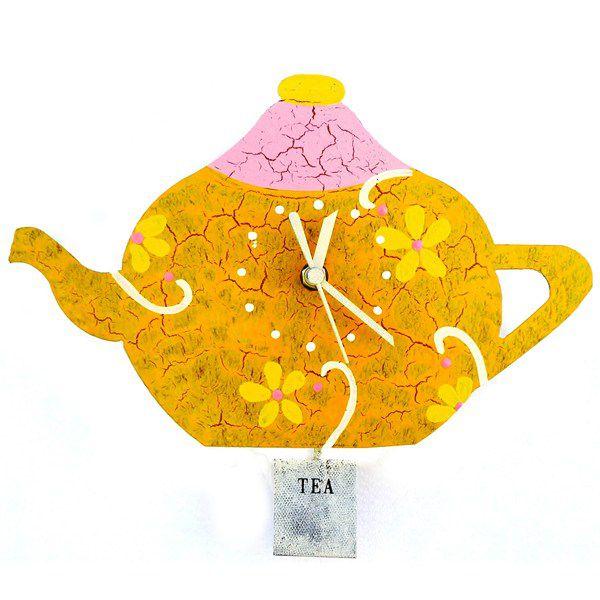 Relógio de Parede - Bule de Chá