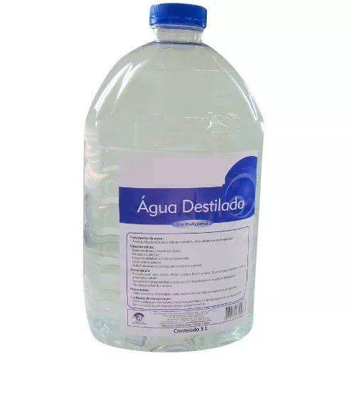 ÁGUA DESMINERALIZADA 5L