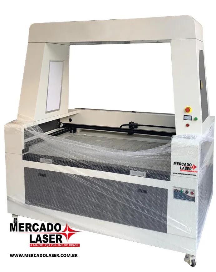 MÁQUINA DE CORTE A LASER 130X90 100W COM CÂMERA DE VISÃO
