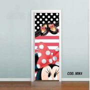 Adesivo De Porta Mickey Minnie Disney mod04