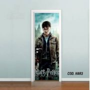 Adesivo De Porta Harry Potter mod03