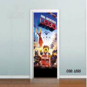 Adesivo De Porta Uma Aventura Lego #05