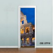 Adesivo De Porta Cidade Italia #01