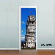 Adesivo De Porta Cidade Italia #04