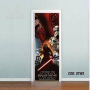 Adesivo De Porta Star Wars - Despertar Força