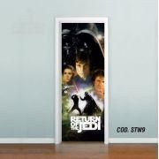 Adesivo De Porta Star Wars - Episódio VI