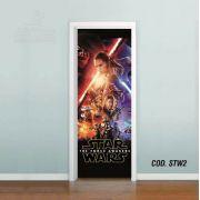 Adesivo De Porta Star Wars - Episódio VII