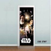 Adesivo De Porta Star Wars - Episódio IV