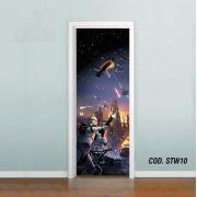 Adesivo De Porta Star Wars - Stormtrooper mod01