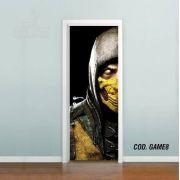 Adesivo De Porta Mortal Kombat mod03