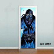 Adesivo De Porta Mortal Kombat mod04