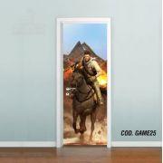 Adesivo De Porta Uncharted - Nathan Drake mod03