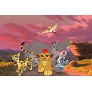 Painel Decorativo Festa A Guarda Do Leão #03
