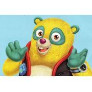 Painel Decorativo Festa Agente Especial Urso #02