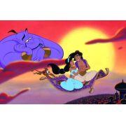 Painel Decorativo Festa Aladdin Jasmine #01