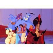 Painel Decorativo Festa Aladdin Jasmine #03