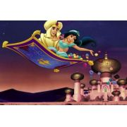 Painel Decorativo Festa Aladdin Jasmine #04