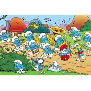 Painel Decorativo Festa Os Smurfs #04