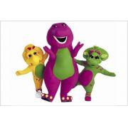 Painel Decorativo Festa Barney E Seus Amigos #01