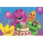 Painel Decorativo Festa Barney E Seus Amigos #02