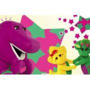 Painel Decorativo Festa Barney E Seus Amigos #03