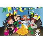 Painel Decorativo Festa Festa Junina Arraiá #03