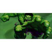 Painel Decorativo Festa Hulk #01