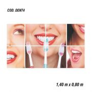 Adesivo De Parede Dentista Consultorio mod04