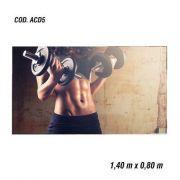 Adesivo De Parede Academia Fitness Musculação mod05
