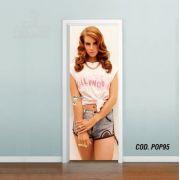 Adesivo De Porta Lana Del Rey mod03
