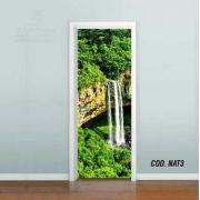 Adesivo De Porta Paisagem Natureza mod03